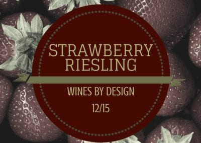Strawberry Riesling