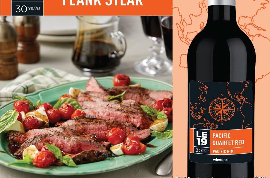 Recipe: Caprese Flank Steak